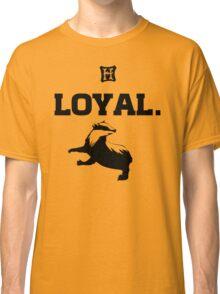 Hufflepuff. Loyal. Classic T-Shirt