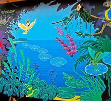 Wall Art Kauai - The Window by HanieBCreations
