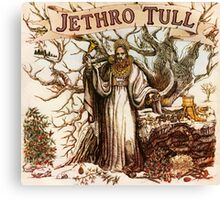 JETHRO TULL CHRISTMAS FOR Canvas Print