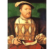 HENRY THE EIGTH Photographic Print