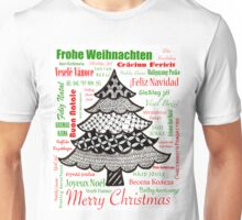 Worldwide Merry Christmas Unisex T-Shirt
