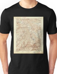 USGS TOPO Map California CA Downieville 299331 1896 125000 geo Unisex T-Shirt