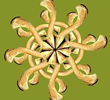 Clavicle Snowflake-Olive by BetsyRiley