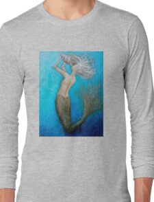 Call Of The Siren - Mermaid Long Sleeve T-Shirt
