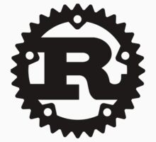 Rust Programming Language Logo Kids Clothes