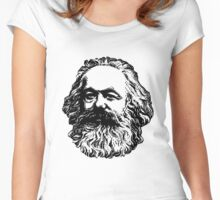 Karl Marx Women's Fitted Scoop T-Shirt
