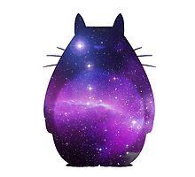 Galaxy Totoro by saikuron