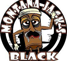 Montana Jack's Black - White Background by MontanaJack