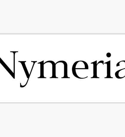 Nymeria Sticker