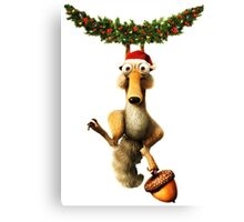 CHRISTMAS FOR ICE AGES Canvas Print