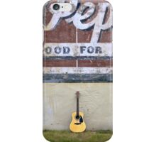Guitars About Town - Dr Pepper iPhone Case/Skin