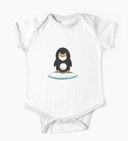 Penguin standing on ice One Piece - Short Sleeve