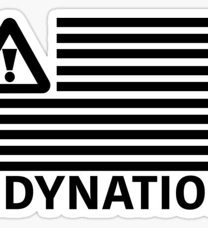 HDYNATION FLAG FLOSSTRADAMUS Sticker
