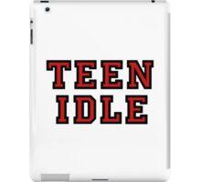 Teen idle red marina and the diamonds iPad Case/Skin