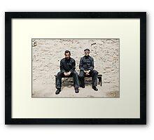 Jail Framed Print
