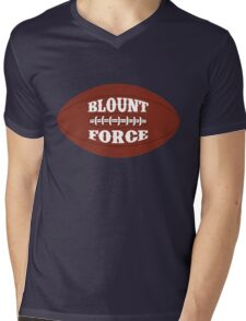 BLOUNT FORCE New England Football Fan #29 T Shirt Mens V-Neck T-Shirt