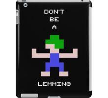 LEMMINGS iPad Case/Skin