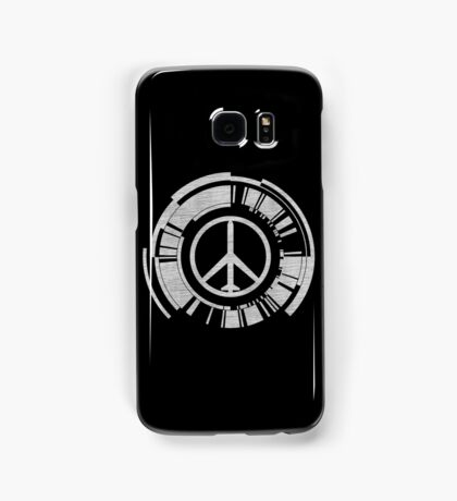°METAL GEAR SOLID° Peace Walker Denim Logo Samsung Galaxy Case/Skin