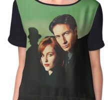 Mulder & Scully Chiffon Top