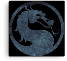 °GEEK° Mortal Kombat Logo Canvas Print