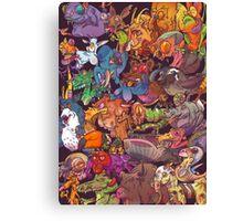 Freaky Furries Canvas Print
