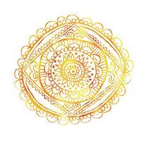 Sun Mandala Photographic Print