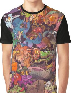 Freaky Furries Graphic T-Shirt
