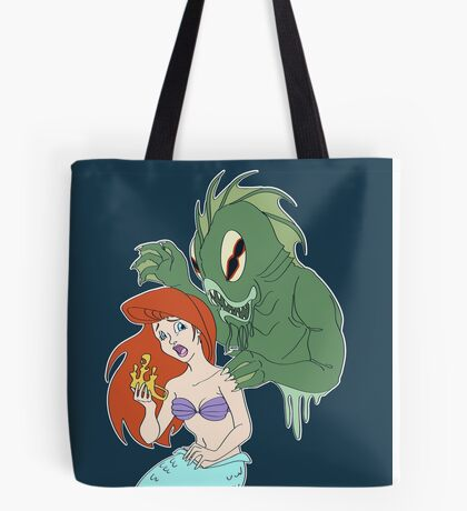 Part of Dagon's World Tote Bag