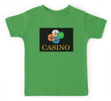 Casino Movie Poster Kids Tee