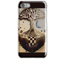 Pen and Ink Tree iPhone Case/Skin