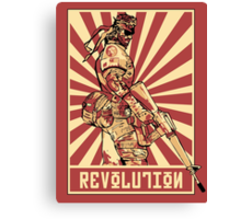 Big Boss Revolution Canvas Print