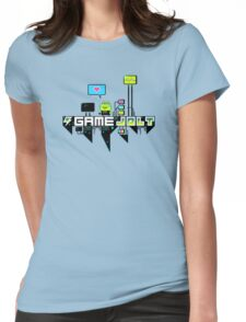 Kikkerstein Game Jolt Logo Womens Fitted T-Shirt
