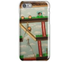 Video Game Theme Department Goal chart iPhone Case/Skin