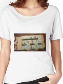 Video Game Theme Department Goal chart Women's Relaxed Fit T-Shirt