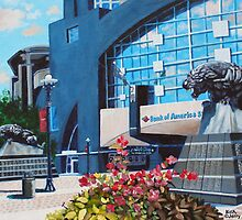 'PANTHERS STADIUM'  by Jerry Kirk