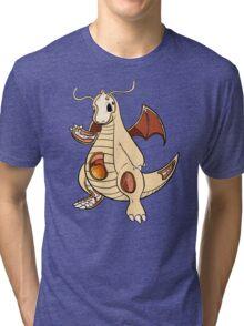 Dragonite Anatomy Tri-blend T-Shirt