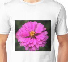 Summer Pink Zinnia Unisex T-Shirt