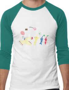 Olimar Typography Men's Baseball ¾ T-Shirt
