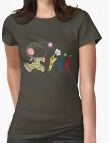 Olimar Typography Womens Fitted T-Shirt