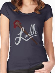 lucille - twd Women's Fitted Scoop T-Shirt