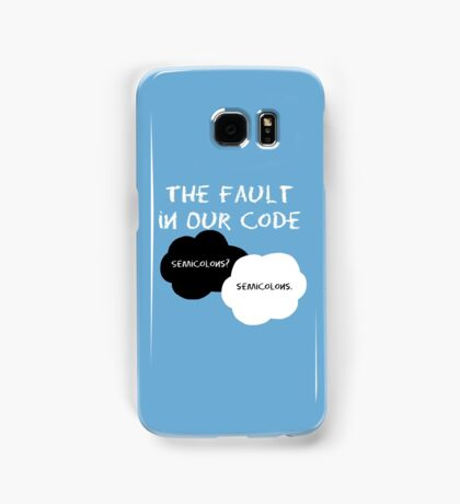 The Fault in our Code Samsung Galaxy Case/Skin