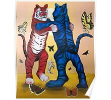 Tiger Swallowtail Tango Poster