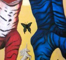Tiger Swallowtail Tango Sticker