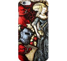 Renaissance Stained Glass Window iPhone Case/Skin