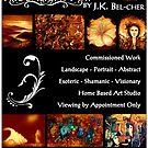 moonlightart poster by Kaye Bel -Cher