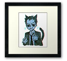 Meowiarty Framed Print