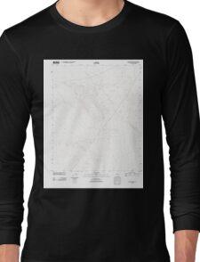 USGS TOPO Map California CA Bitter Spring 20120312 TM geo Long Sleeve T-Shirt