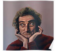 Marty Feldman Painting Poster