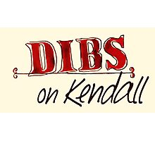 Dibs! On Kendall Photographic Print