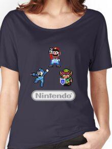 Nintendo Shirt - Mario, Zelda, Megaman Women's Relaxed Fit T-Shirt
